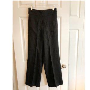Tahari Linen Pull On Pants
